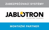 Jsme certifikovaní Jablotron montážní partneři